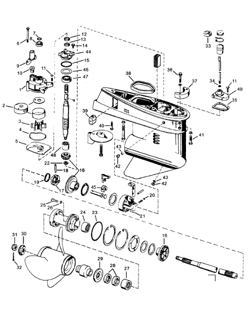 wiring diagram for 1974 70hp outboard motor