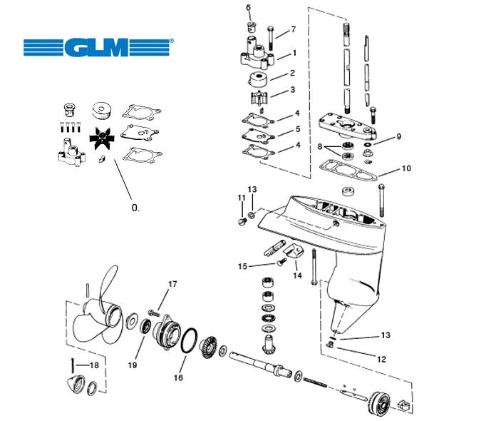 mercruiser diesel 1 7 parts