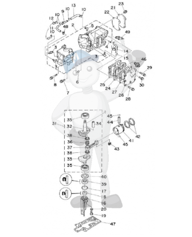 Electric Fuel Pressure Gauge further 46978 Startproblemer Perkins 4108 moreover 130   Taurus Alt Wiring Question 969169 besides Volvo Penta Sx Drive Schematic furthermore Small Volvo Penta Marine Engines. on volvo penta wiring diagram