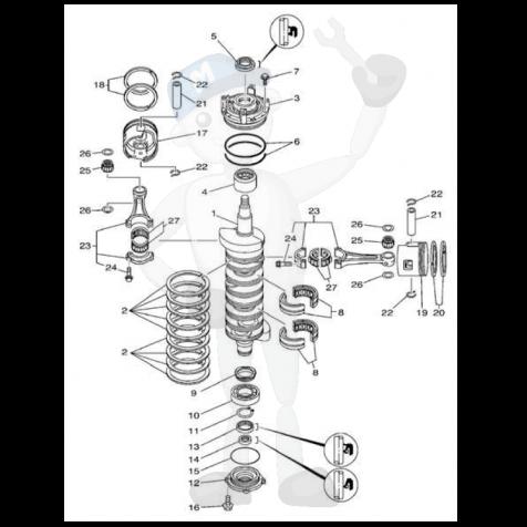 4bt Wiring Diagram together with 6 0 Briggs And Stratton Engine as well Serpentine Alternator Wiring further Vw Generator To Alternator Conversion besides 2000 Yamaha Gp1200 Starter Motor. on marine generator wiring diagram